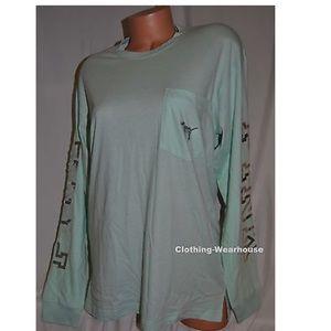 Victoria secret pink bling shirt size large